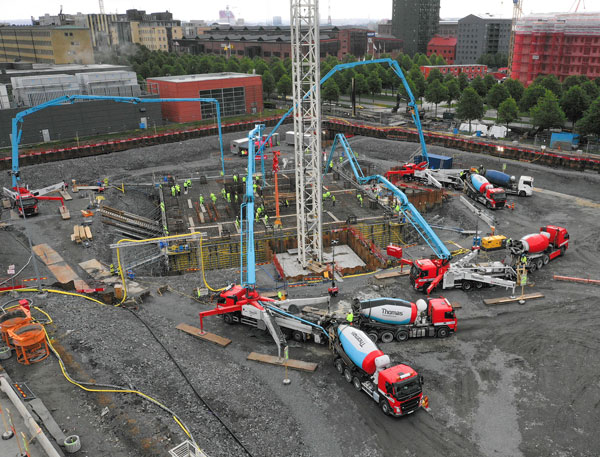 Thomas Concrete Group contributes to the development of Gothenburg city
